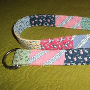 Vineyard Vines Fabric Belt Size M